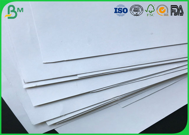 200g 250g 300g 350g 400g Grey Chipboard Coated One Side Duplex White Board With Grey Back