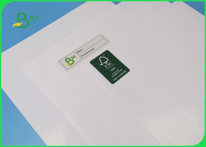 Roll Size 500mm 400mm Coated Paper 115gr Good Color Performance For Name Card