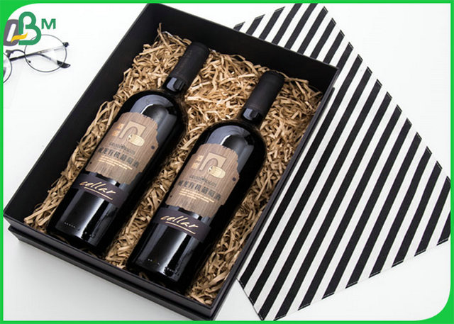 Resistant To Curl 2MM Grey Chipboard Material For Making Wine Gift Box