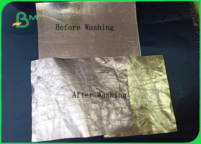 Resistance To Wear And Tear Soft Wasnable Kraft Paper For Bag