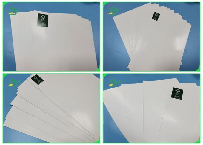170gsm 180gsm 250gsm C2S Glossy Coated Paper FSC Certified For Product Bronchue