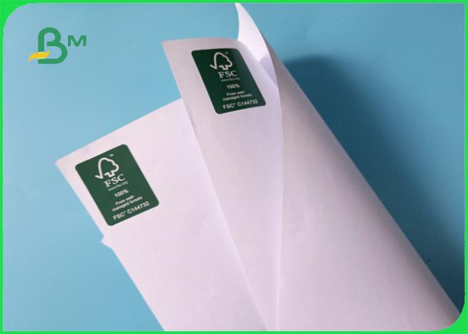 80gsm FSC approved Smooth and not easy to deform CAD plotter paper in roll
