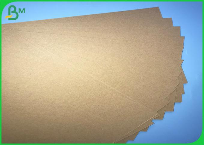 70*100cm 200gsm - 400gsm FSC SGS Brown Kraft Board For Making Boxes