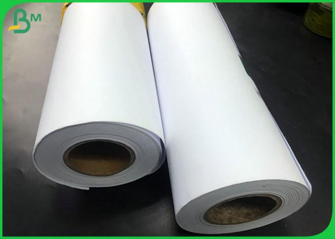 "Tracing Paper 20LB 75gsm CAD Drawing Bond Plotter Paper roll with 24"" x 150ft"