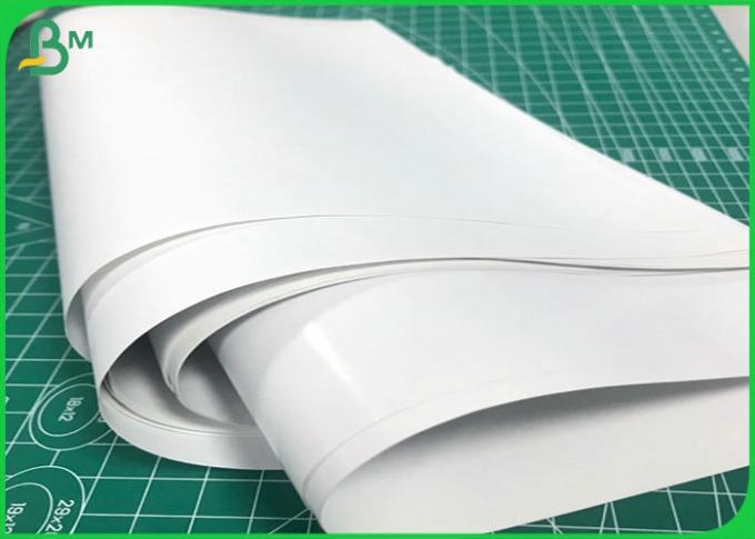 115 gsm 120 gsm 150 gsm Art Paper Glossy and Matte Papel Couche in Custom Roll size