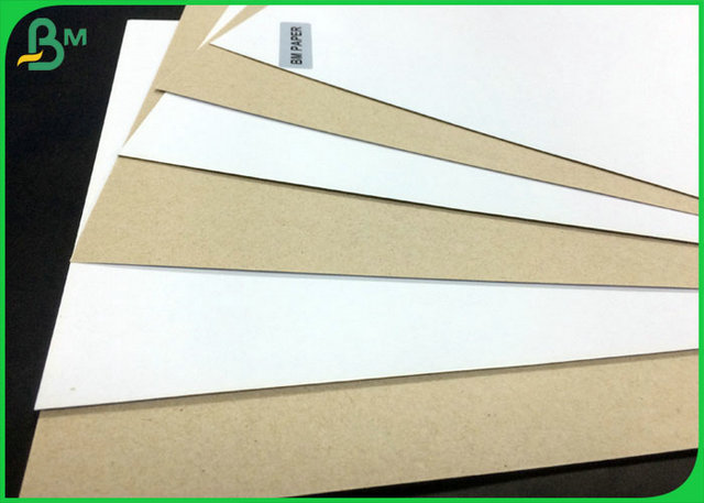 One Side Coated 300GSM Duplex Board White Back With FSC Certification