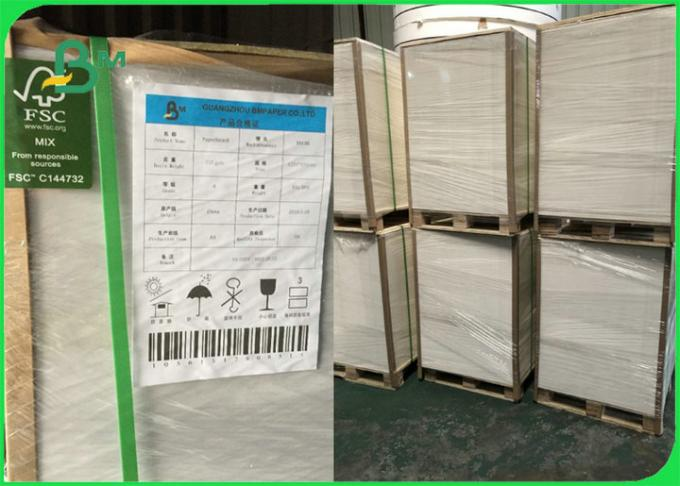 White Coated One Side FBB GC1 Ivory Paperboard  250gsm to 350gsm Customized