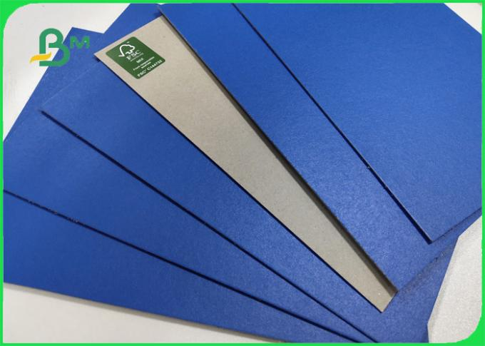 1.2mm 1.4mm Blue Lacquered Carton Finish Glossy Used For File Folders