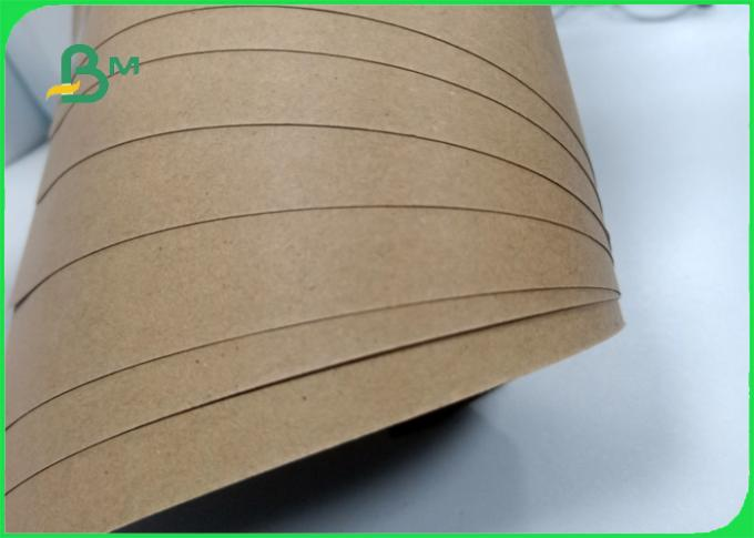 50 60 70 80gr brown kraft paper roll bursting resistance for book cover
