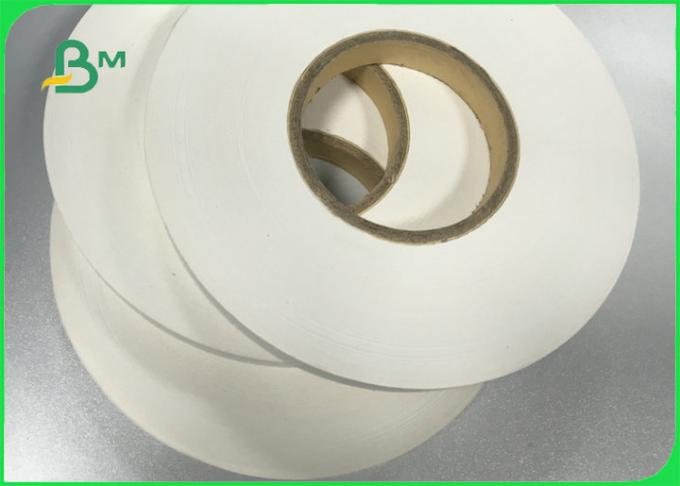 60gsm 120gsm Printable White Kraft Paper Used to Make Straw Tubes Size 15mm