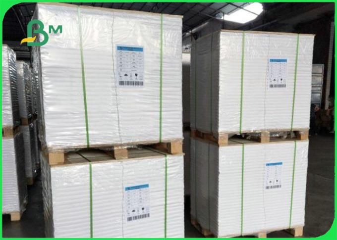 Waterproof 70gsm 80gsm + 10g PE Coated Offset Printing Paper For Packaging