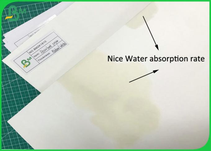 Coaster Material Sheet 70 * 100CM 0.7MM 1.4MM Absorbent Paper for Seal gasket