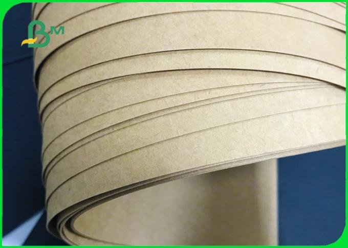 200g - 400g 860mm * 914mm Brown Kraft Test Liner Board For Storage Bags